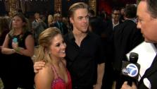 Shawn Johnson and Derek Hough talk to OTRC.com after the Dancing With The Stars: All-Stars finale on November 27, 2012. - Provided courtesy of OTRC