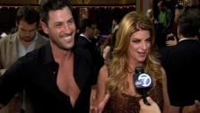 Kirstie Alley and Maksim Chmerkovskiy talk to OTRC.com after the Dancing With The Stars: All-Stars finale on November 27, 2012. - Provided courtesy of OTRC