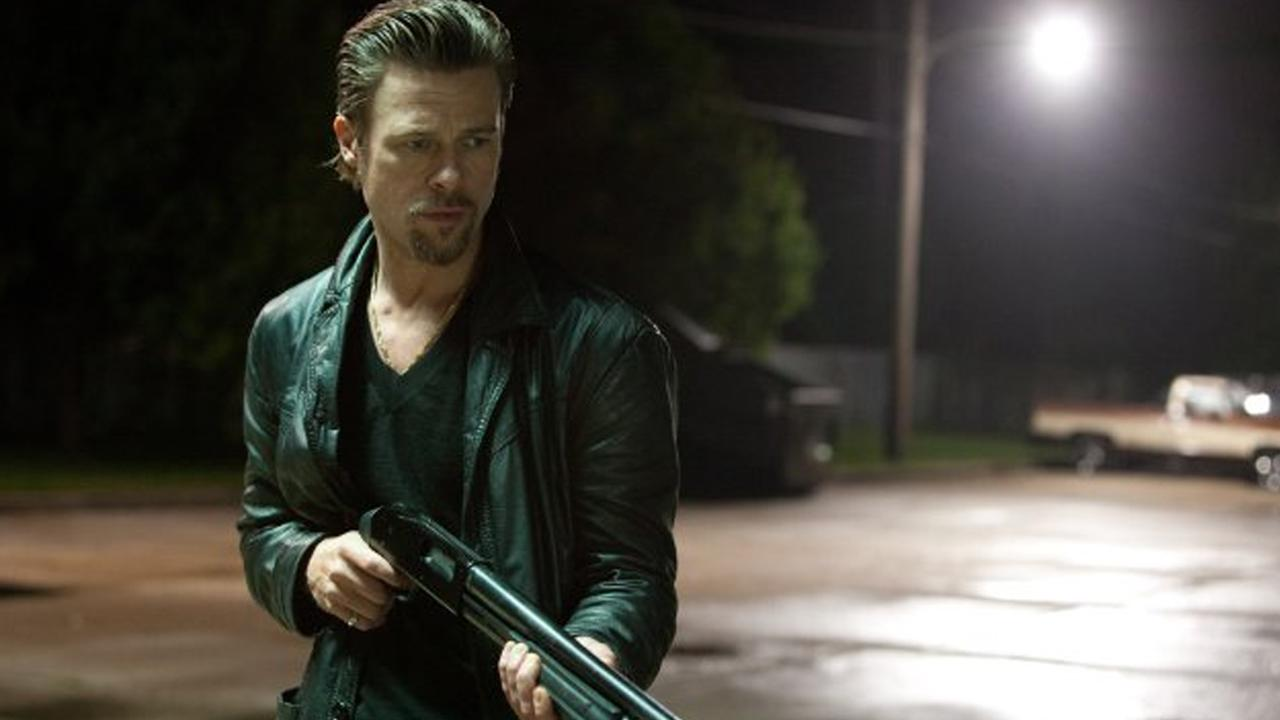 Brad Pitt appears in a scene for the 2012 film Killing Them Softly.