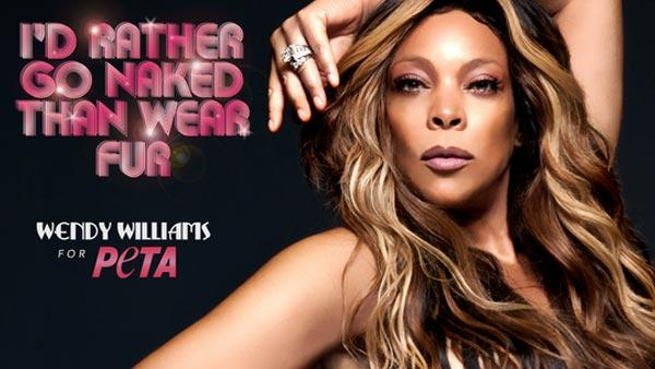 Wendy Williams talks about posing nude for PETA (Video)