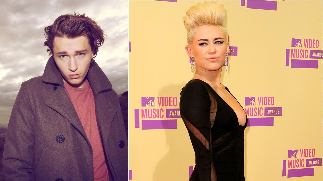 Braison Cyrus, the 18-year-old brother of Miley Cyrus, appears in this photo that will be included in the January/February 2013 issue of TROIX Magazine. / Miley Cyrus appears at the MTV Video Music Awards on Thursday, Sept. 6, 2012.
