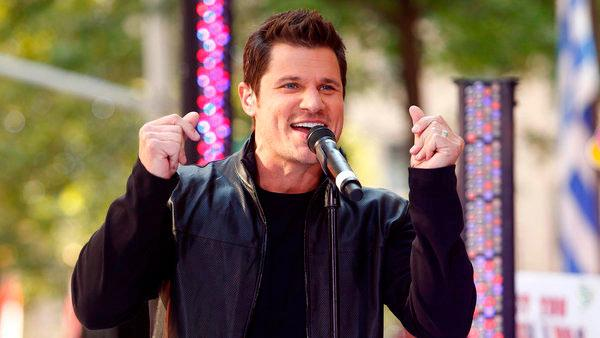 Nick Lachey of 98 Degrees appears on NBC News Today show on August 17, 2012. - Provided courtesy of Peter Kramer/NBC