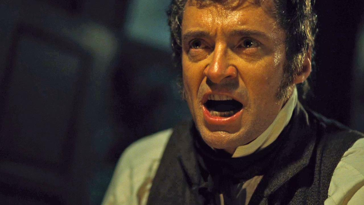 Jean Valjean (Hugh Jackman) sings Who Am I in this scene from the 2012 musical film Les Miserables.Universal Pictures / Working Title Films / Cameron Mackintosh Ltd.