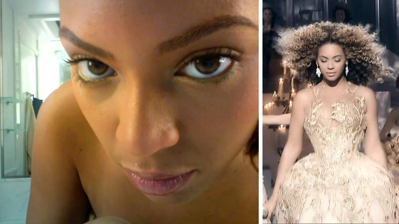Beyonce appears in scenes from a teaser trailer from her HBO documentary released on December 4, 2013.