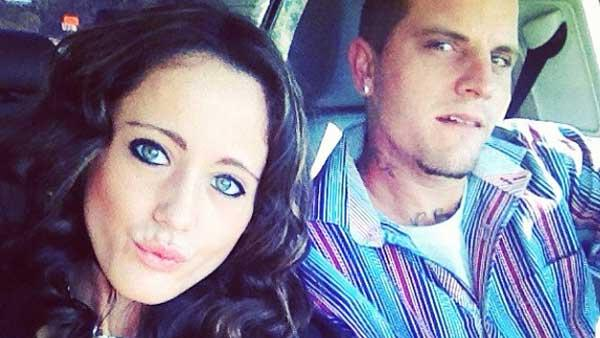 Courtland Rogers and Jenelle Evans appear in photos from her official Instagram page in November 2012.
