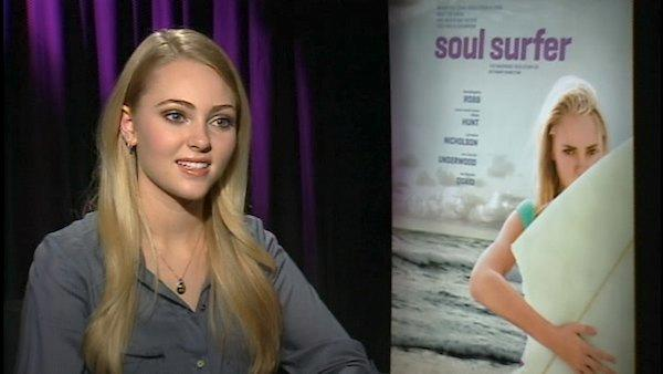 AnnaSophia Robb dishes about her intense training for 'Soul Surfer' and how the film changed her outlook on life.