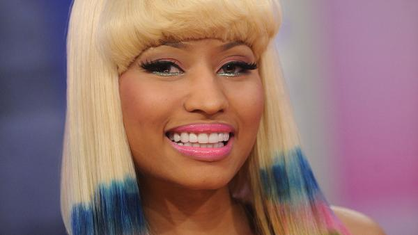 Nicki Minaj appears in a 2012 promotional photo for 'American Idol.'