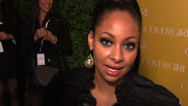 Raven-Symone talks to OnTheRedCarpet.com at COVERGIRL Cosmetics' 50th Anniversary Party in L.A. on Jan. 5.