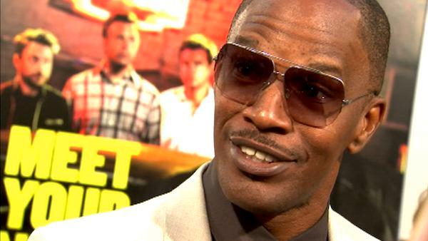 Jamie Foxx talks to OnTheRedCarpet.com at the Hollywood premiere of 'Horrible Bosses.'