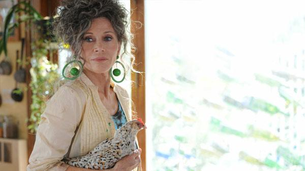 Jane Fonda appears in a scene from the 2012 movie 'Peace, Love and Misunderstanding.'