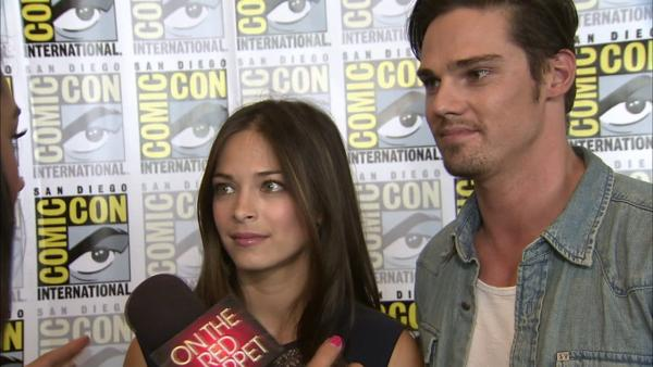 Kristin Kreuk and Jay Ryan appear in a photo at San Diego Comic-Con on Thursday, July 12, 2012