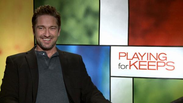Gerard Butler talks to OTRC.com about his 2012 comedy romance film Playing for Keeps, his co-stars.
