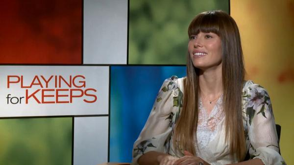 Jessica Biel talks 'Playing for Keeps,' her role as a mom