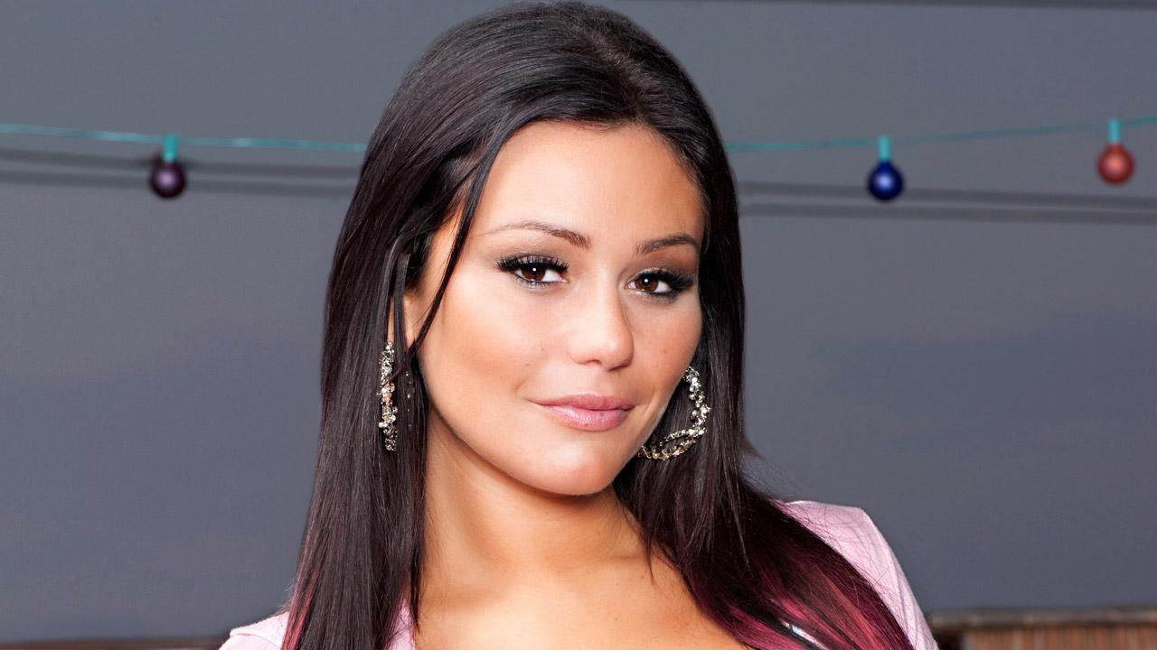 JWoww appears in a promotional photo for the sixth season of Jersey Shore which aired in 2012.