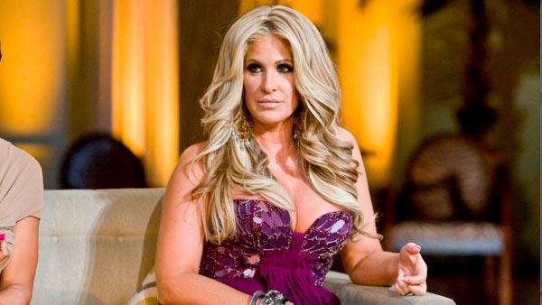 Kim Zolciak appears in a promotional photo for an episode of The Real Housewives of Atlanta that aired on April 15, 2012. - Provided courtesy of Wilford Harewood/Bravo