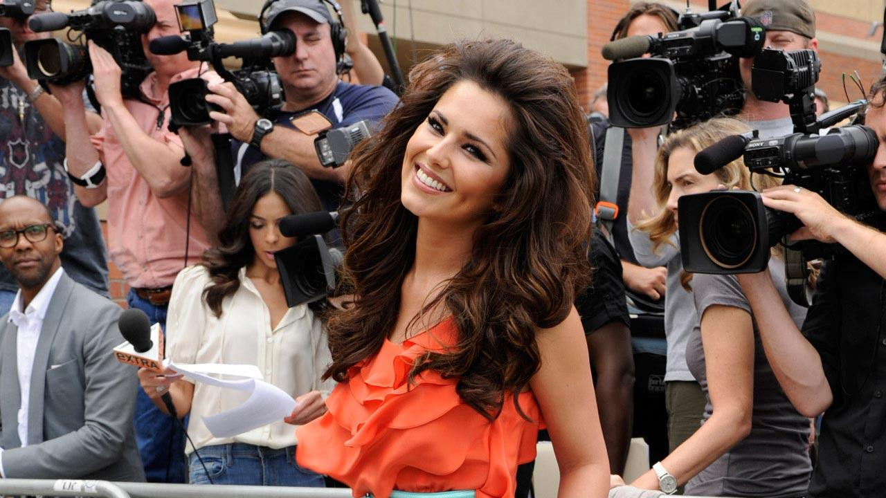 Cheryl Cole appears in a promotional photo for the FOX series The X Factor in 2011.