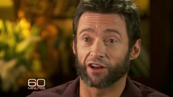 Hugh Jackman appears in an interview with 60 Minutes on Dec. 9, 2012. - Provided courtesy of CBS / 60 Minutes