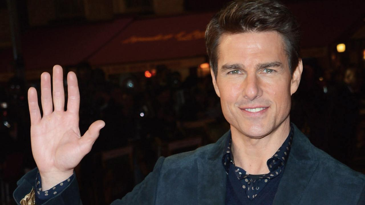 Tom Cruise attends the world premiere of Jack Reacher at The Odeon Leicester Square in London on Dec. 10, 2012.