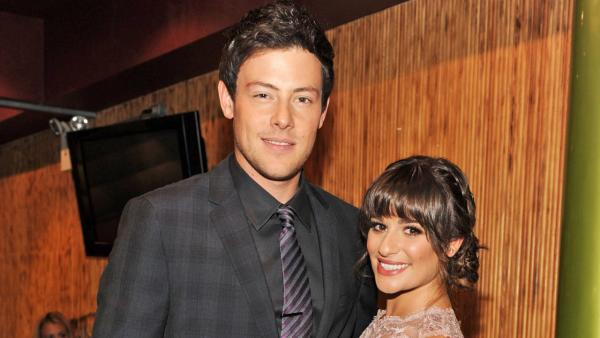 Lea Michele and Cory Monteith appear the FOX 2012 Programming Presentation on Monday, May 14, 2012, at Citrus Restaurant in New York.
