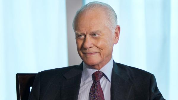 Larry Hagman appears as J.R. Ewing in a 2012 promotional photo for Dallas. - Provided courtesy of TNT/Zade Rosenthal