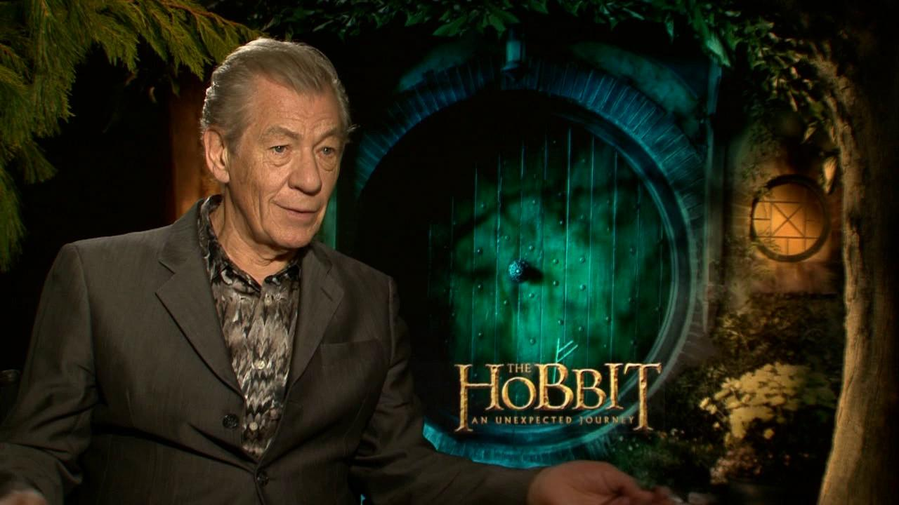 Ian McKellen talks to OTRC.com about The Hobbit: An Unexpected Journey in December 2012.