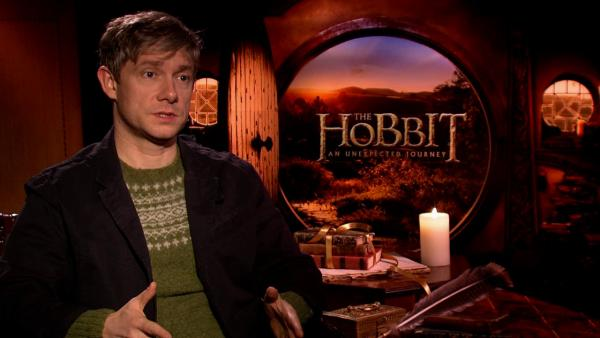 Martin Freeman (Bilbo Baggins) talks 'Hobbit'