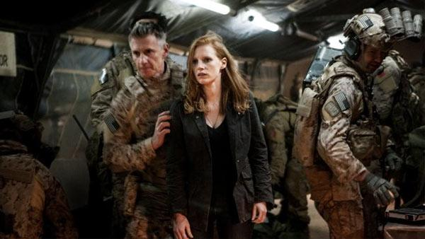 Jessica Chastain appears in a scene from the 2012 movie 'Zero Dark Thirty