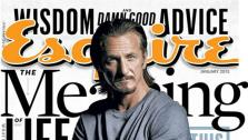 Sean Penn appears on the cover of Esquire magazines January 2013 issue. - Provided courtesy of Esquire