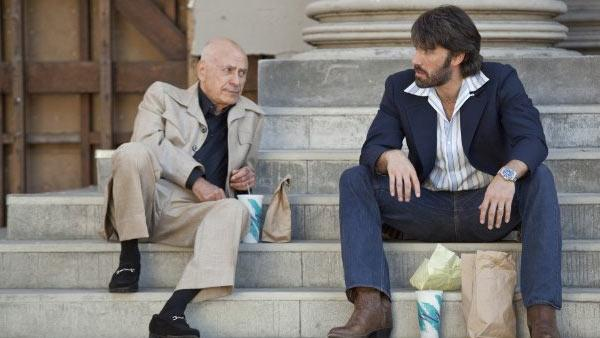 Alan Arkin and Ben Affleck appear in a scene from the 2012 movie 'Argo.'