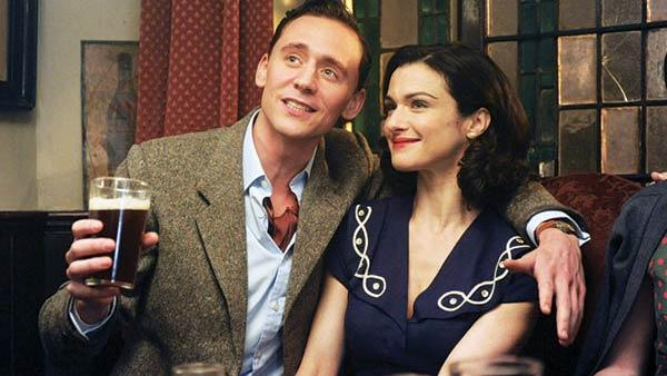 Rachel Weisz and Tom Hiddleston appear in a scene from the 2012 movie 'The Deep Blue Sea.'