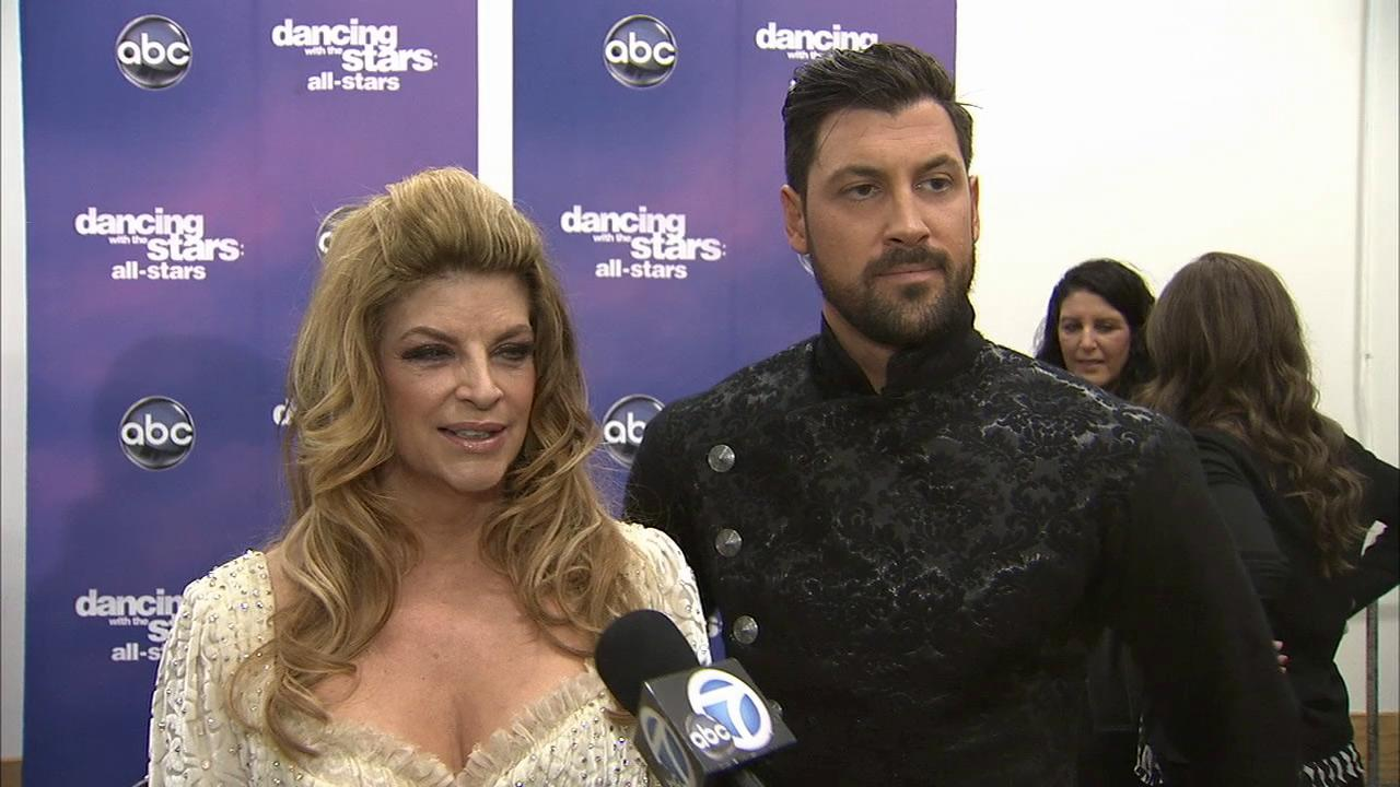 Kirstie Alley and Maksim Chmerkovskiy talk to OTRC.com after the November 12, 2012 episode of Dancing With The Stars.