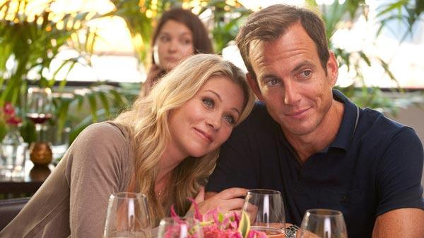 Christina Applegate and Will Arnett appear in a scene from a season 2 episode of 'Up All night' which aired in 2012.