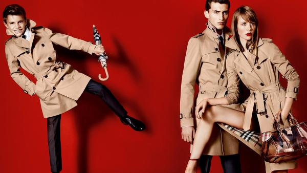 Romeo Beckham models in a photo for Burberry Spring/Summer 2013 campaign posted on Burberrys Facebook page on December 17, 2012. - Provided courtesy of Burberry/ Mario Testino