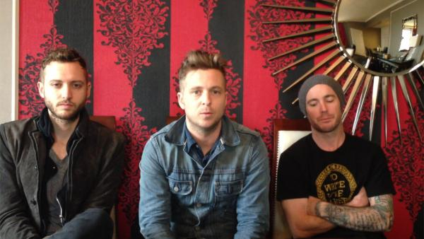 OneRepublic group members appear in this YouTube video calling on people to donate to help families of the 26 victims of the Connecticut school shooting on Dec. 14, 2012. - Provided courtesy of indiegogo.com/OneRepublicForSandyHook