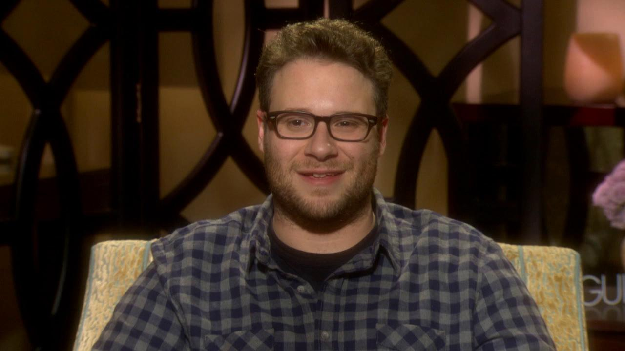 Seth Rogen talks to OTRC.com about the movie The Guilt Trip in December 2012.