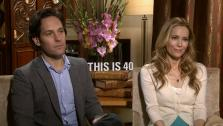 Paul Rudd and Leslie Mann talk to OTRC.com about their 2012 comedy film, This is 40, which hits theaters Dec. 21, 2012. - Provided courtesy of none / OTRC