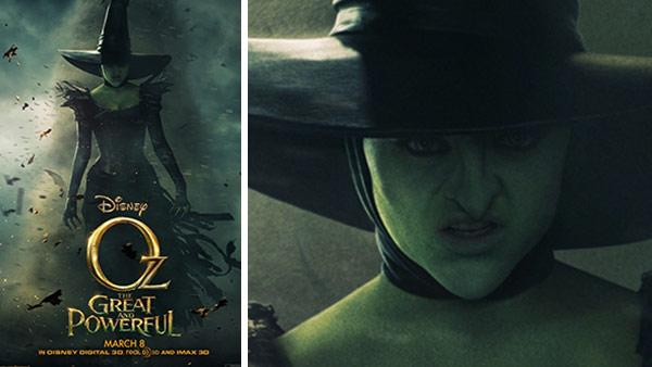 A witch appears in a poster for Disneys 2013 film Oz the Great and Powerful. - Provided courtesy of Walt Disney Studios Motion Pictures