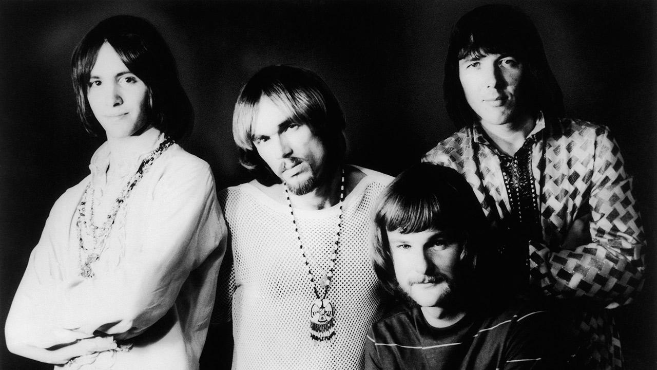 L to R: Iron Butterfly members Erik Brann, Ron Bushy, Lee Dorman and Doug Ingle are pictured in this April 9, 1969 photo.Bettmann/ Corbis / AP Images