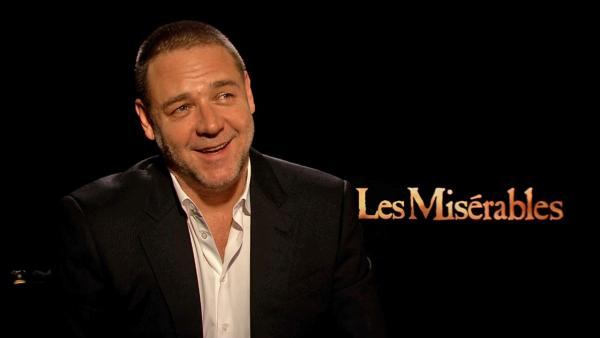 Russell Crowe talks 'Les Miserables,' his mixed feelings about the role