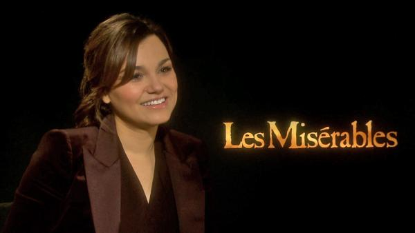 Samantha Barks talks 'Les Mis' role: It's epic for me
