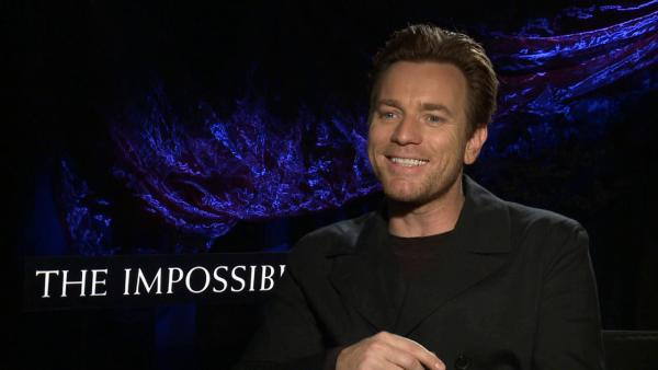 Ewan McGregor discusses 'The Impossible' (tsunami film)