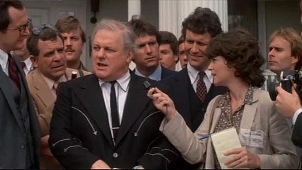 Charles Durning appears in a scene from the 1982 musical film The Best Little Whorehouse in Texas. - Provided courtesy of Universal Pictures
