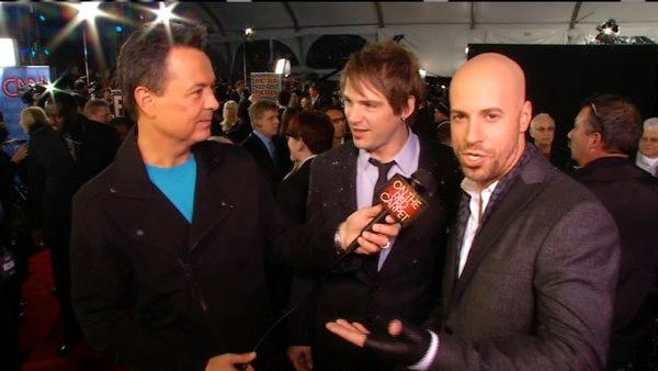 Chris Daughtry talks to OTRC.com at the 2011 American Music Awards on Nov. 20, 2011.