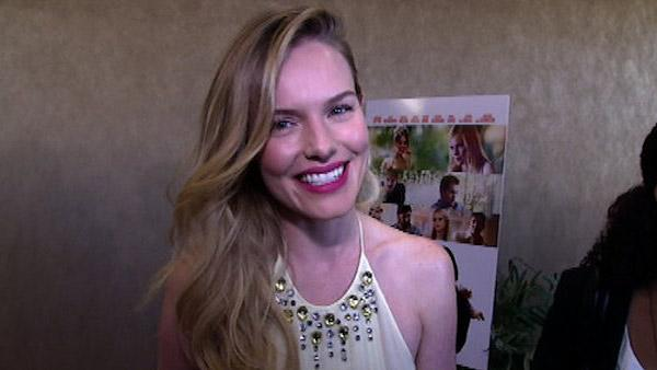 Kate Bosworth talks to OnTheRedCarpet.com at the premiere of 'L!fe Happens' in Los Angeles on April 2, 2012.