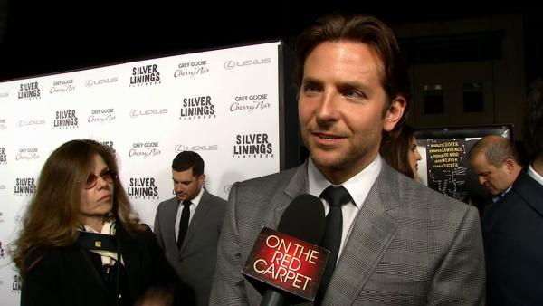 Bradley Cooper talks to OTRC.com at the premiere of 'Silver Linings Playbook' on Nov. 19, 2012.