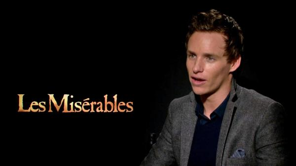 Eddie Redmayne talked to OTRC.com about his upcoming film 'Les Miserables' on Dec. 3, 2012.