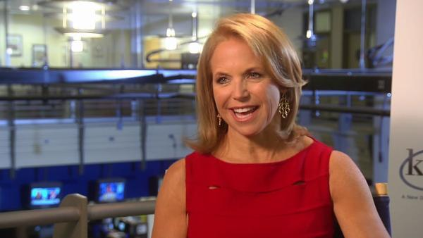 Katie Couric talks to OnTheRedCarpet.com about her new ABC talk show 'Katie' on August 22, 2012.