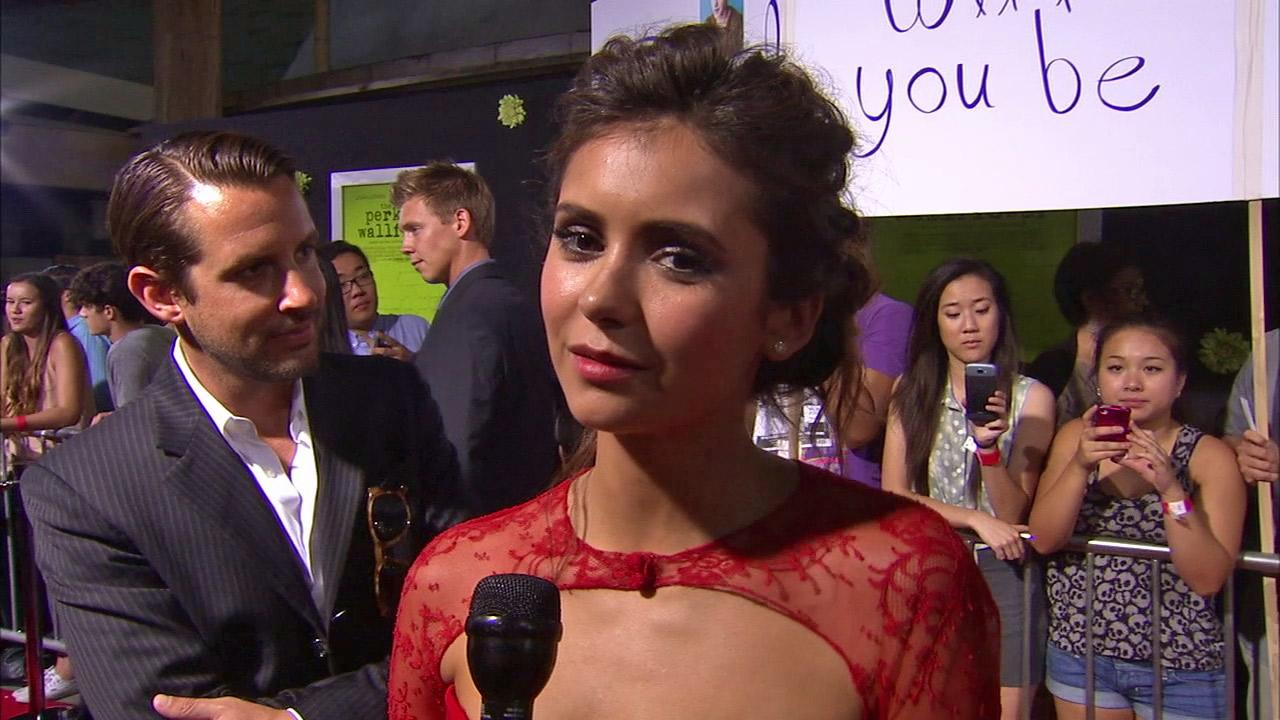 Nina Dobrev talks to OTRC.com at the Hollywood premiere of The Perks of Being a Wallflower.