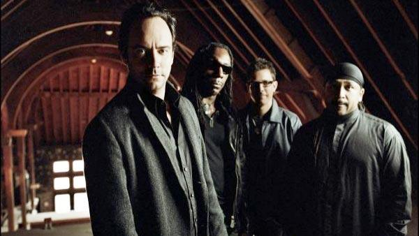 The Dave Matthews Band appears in an undated photo from their official Facebook.
