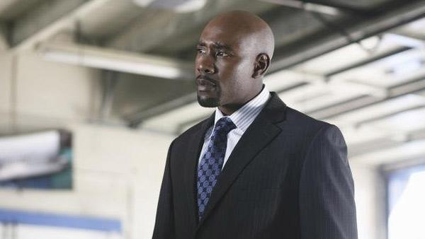 Morris Chestnut appears in a scene from the ABC drama 'V.'